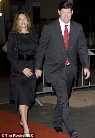 The exes: Erica with James in 2008 in Wales, Australia; they had been married for only a year when this image was taken