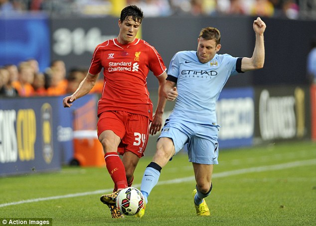 City boy: James Milner wants assurances before pledging future to the club