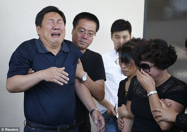 No relief: Four teenagers were charged with capital murder on Tuesday in the beating death of Ji Xinran not far from the University of Southern California campus in Los Angeles, prosecutors said