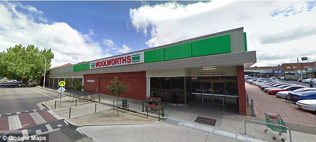 The Orange Woolworths in NSW where the block of cheese was bought from