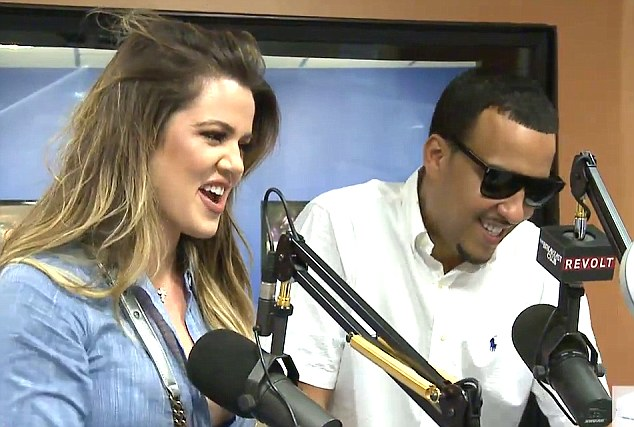 First interview as couple: The reality star and her rapper beau chatted with tadio host Angie Martinez for their first interview together