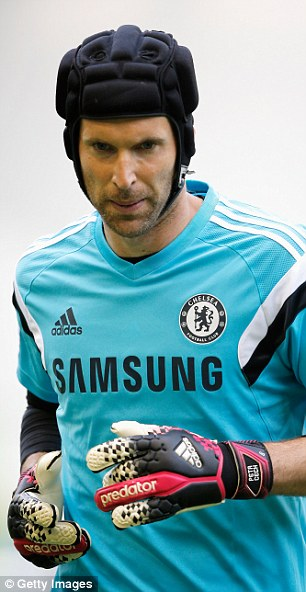 Experience: Cech has been an ever-present at Chelsea since joining the club in 2004