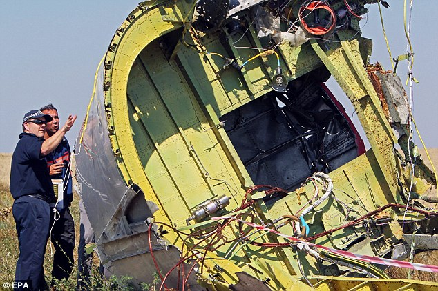 Australian and Dutch experts arrived at the crash site earlier this week to assist in investigations of the tragedy