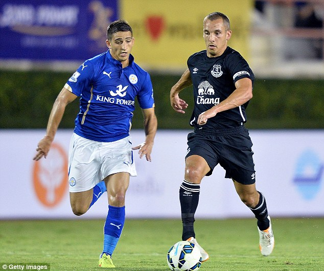 Legend: Leon Osman's testimonial is between Everton and Porto