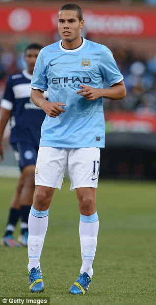 Flop: Rodwell has not done enough to stake a claim for a first-team spot at City