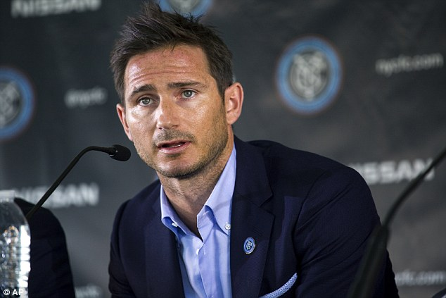 Incoming: Frank Lampard's arrival on loan at Manchester City could lead to the departure of other players