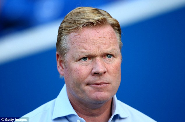 Negotiations: Southampton manager Ronald Koeman is close to sealing the signing of Ezequiel Schelotto