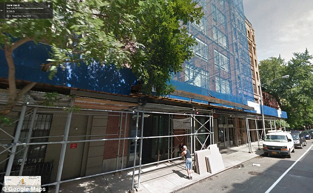 Manhattan living: The 67-year-old actress lives in a high rise in the Big Apple and it's believe the burglar entered through her terrace window with a ladder