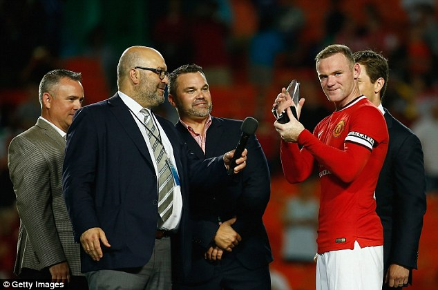 Main man: Rooney was named Most Valuable Player of the tournament after scoring five goals