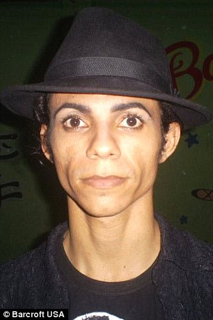 Antonio Gleidson Rodrigues seen without his make-up in December 2009