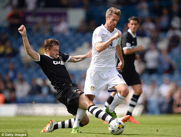 Tricky business: Leeds United (Michael Tonge pictured) have gone through a period of sustained change