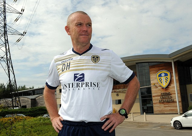 Respect? New manager David Hockaday doesn't seem to have much say when it comes to Cellino