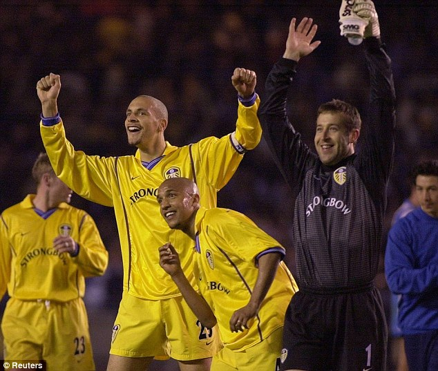 That's a long time ago now! Leeds were in the Champions League semi-finals back in 2001