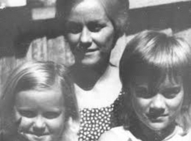 Did she know too much? Brisbane housewife Barbara McCulkin and her daughters Leanne (left) and Vicky (right) vanished from their Highgate Hill home in inner Brisbane on January 16, 1974 and have never been seen again. Last week, police searched two properties 150km away at Warwick, south-west of Brisbane, and are confident they have some clues to the abduction and murder of the three which are connected with the underworld