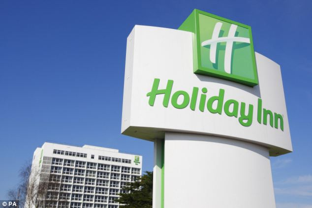 Profits: The hotelier said underlying profits rose 6 per cent to £178.4million in the first six months of the year