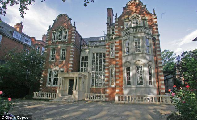 Another of Mr Lakshmi's properties on Palace Green, Kensington Palace Gardens, west London