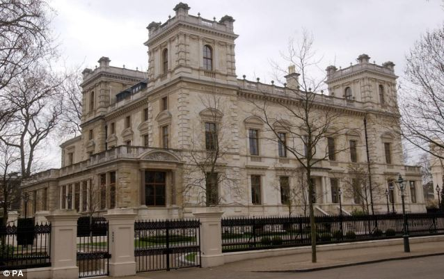 When Mr Mittal bought this house in 2004 for £70m, it was the world's most expensive house, located in Kensington Palace Gardens in west London