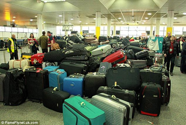 Missing bag: If your bag fails to turn up, go to the luggage handling counter and fill in a Property Irregularity Report