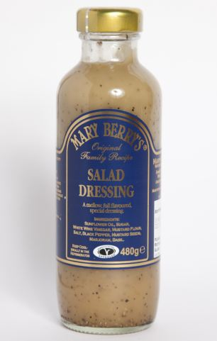 Lucrative: Miss Berry started selling her own brand of salad dressing in 1994 with daughter Annabel