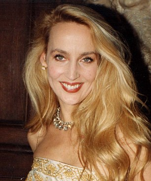 Jerry Hall in 1989