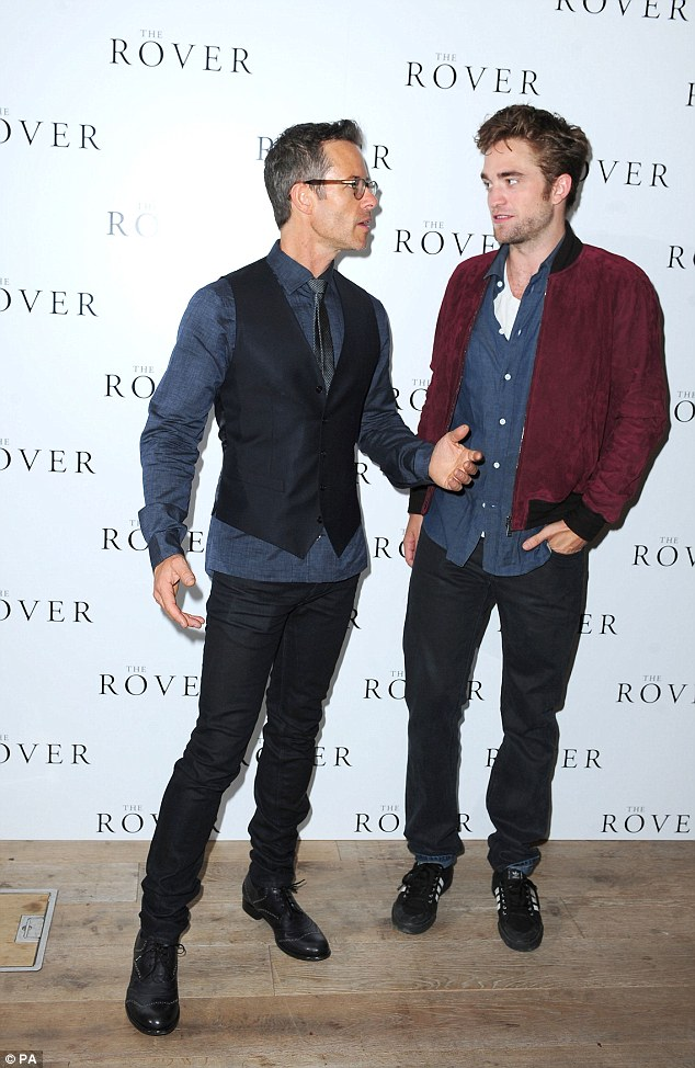 Big night: THe actors attended the London screening of The Rover followed by a Q&A