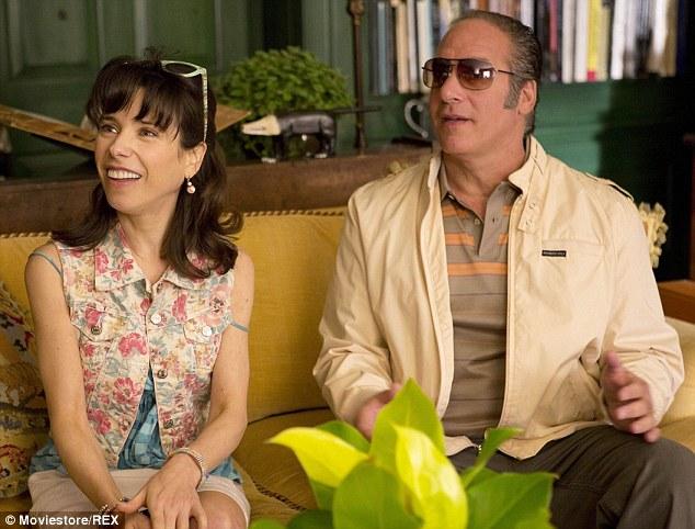 Screen star: The performer appeared in Woody Allen's Oscar-winning film Blue Jasmine alongside Sally Hawkins and Cate Blanchett