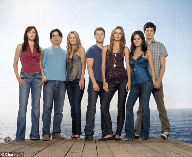 Throwback: Mischa played the lead teen alongside Rachel Bilson as Summer Roberts, Adam Brody as Seth Cohen and Benjamin McKenzie as Ryan Atwood