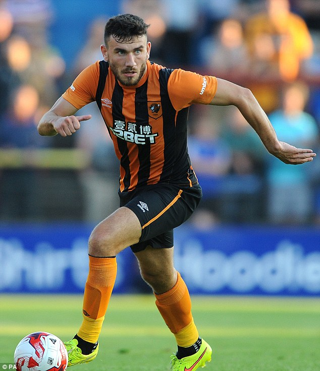 Firepower: Robert Snodgrass has been brought in to add incision to the Hull attack this season