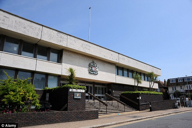 Hove Crown Court heard the women were advertised as 'fresh meat' on a website and were threatened with exposure if they fled. The defendants were jailed for two years and eight months at the court