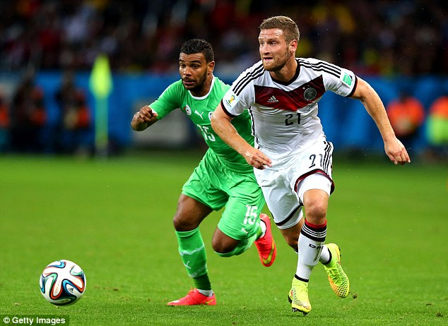 Mixed fortunes: Shkodran Mustafi struggled at Everton but went on to win the World Cup
