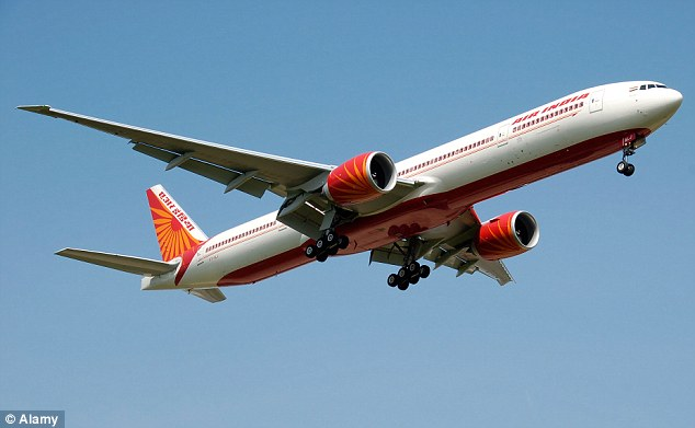 The Boeing 777-300ER cannot clear the billboards while flying with full loads of passengers and fuel
