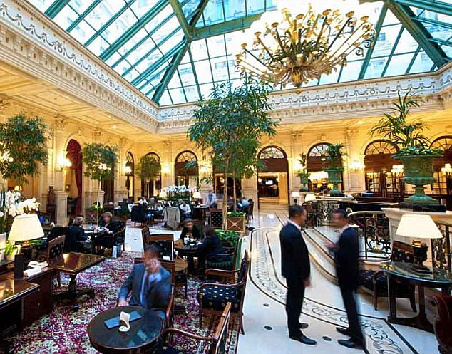 Trophy asset: IHG has sold the freehold of Le Grand in Paris