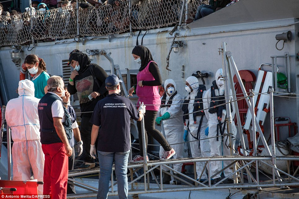 Italy's navy and coast guard have been patrolling the Mediterranean Sea since last October as part of an EU-funded mission called 'Mare Nostrum' (Our Sea)