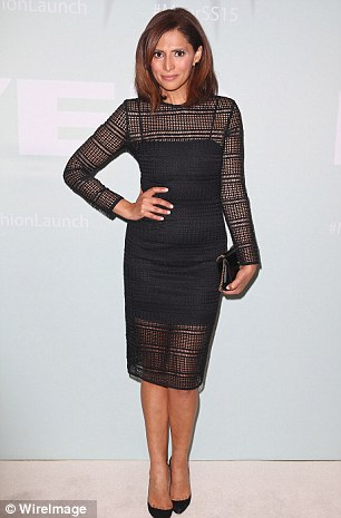 Beauty: Sally arrived at the Myer Spring/Summer 2014 launch looking stunning on Thursday night