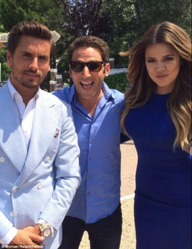 'Acting' gig: Scott and Khloe will also play themselves on the sixth season finale of medical drama Royal Pains, airing September 2 on the USA Network