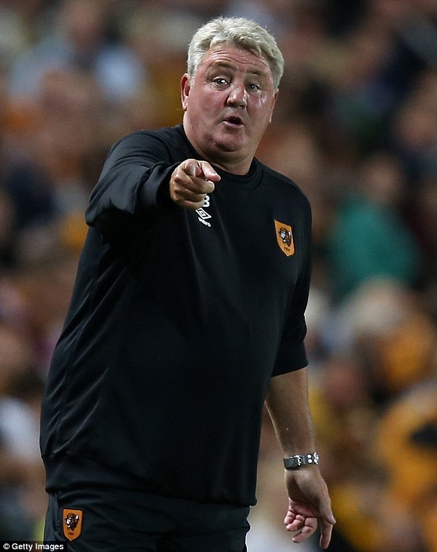 Delighted: Steve Bruve ended Hull City's 110-year wait for European football when they reached the FA Cup final
