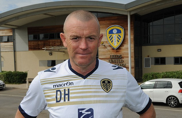 Defending the owner: Leeds boss Dave Hockaday says Massimo Cellino is 'great to work with'