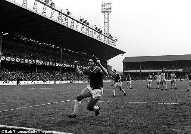 Moneyball: Latchford's £10,000 goal against Chelsea was a huge moment for all Everton supporters in 1978