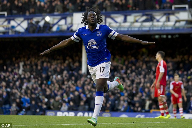 Contrast: It's a very different world now, exemplified by the £28million deal for Romelu Lukaku