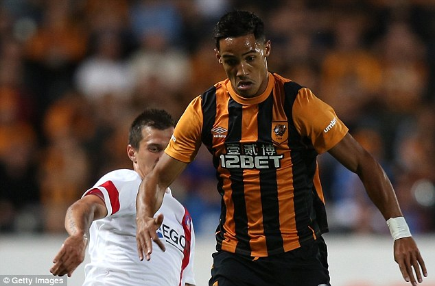 Spotlight: Tom Ince (right) revealed Ryan Giggs is his sporting hero