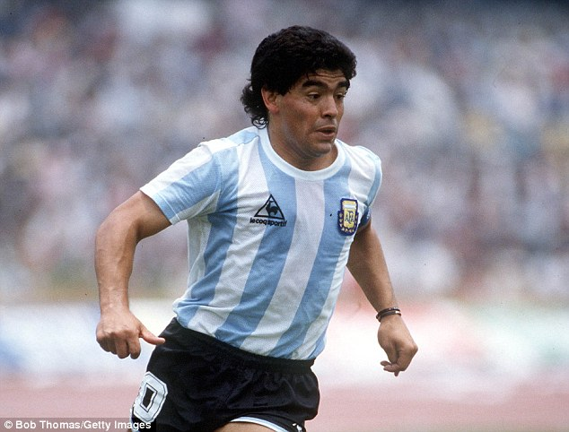 Idol: Ince labels a Maradona shirt as his most prized possession