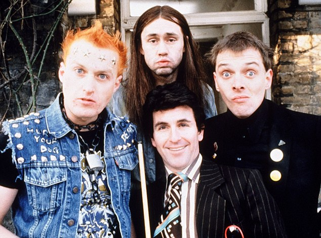 The Young Ones: Rik first found fame alongside Ade Edmondson in the BBC sitcom, which ran from 1982 to 1984