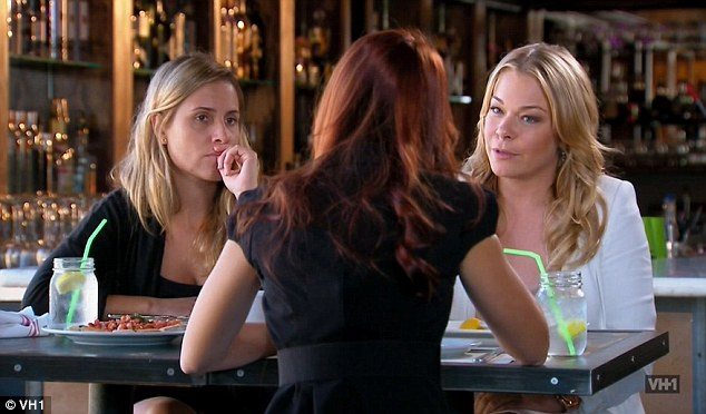 Solution: LeAnn met with publicist Kira to discuss a plan of action following the naked butt Twitter debacle