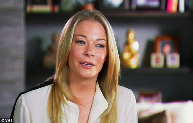 'Buttgate': LeAnn Rimes suffered an embarrassing fallout after mistakenly tweeting a photo of her backside on Thursday's episode of LeAnn & Eddie
