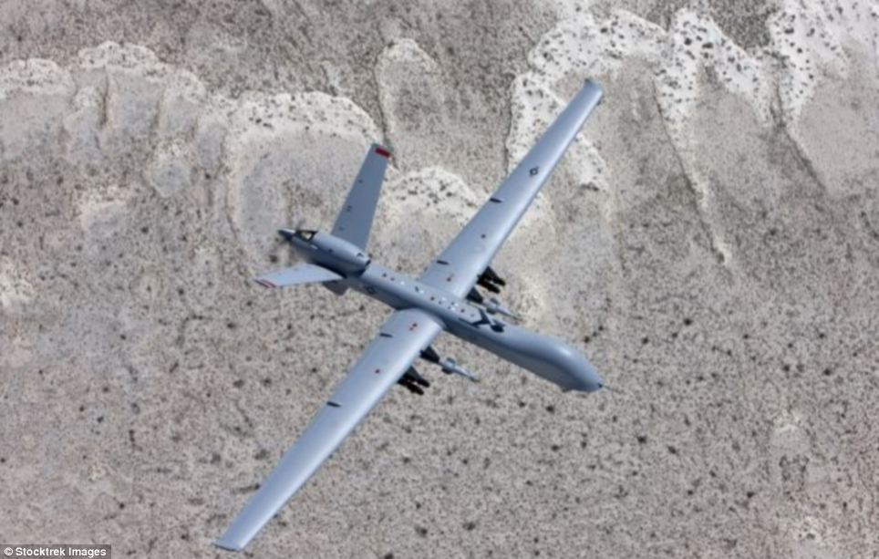 Unmanned attacker: The United States has its MQ-9 'Reaper' drones that can deliver Hellfire missiles more than 1,100 miles away