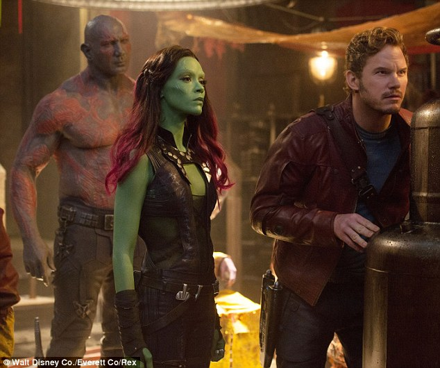 Success! Zoe currently appears in Guardians Of The Galaxy, which earned $94 million on its opening weekend