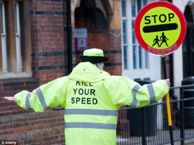 Protection: The crossing could soon feature a lollipop lady to protect fans trying to recreate the iconic image