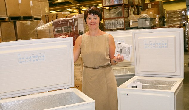 Committed: Pamela Petty of Ebac says it will still manufacture in the UK