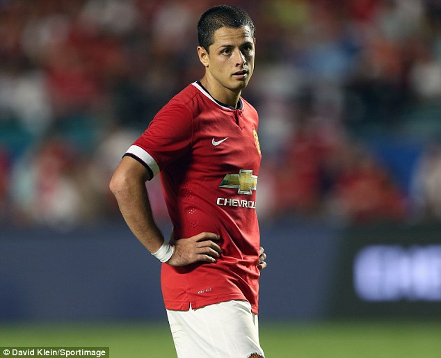 Heading for the exit: Javier Hernandez has been told he can leave Manchester United