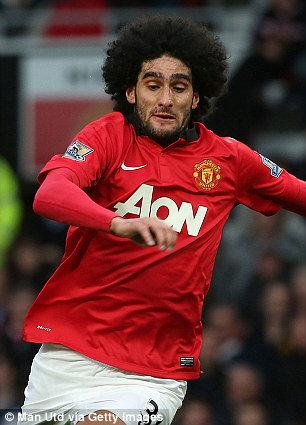 Marouane Fellaini will be sold just a year after joining United for £27million